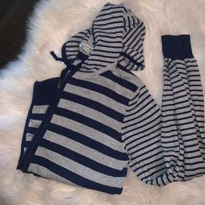 Forever 21 stripped jacket